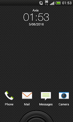 HTC Desire HD menggunakan Rom ICS