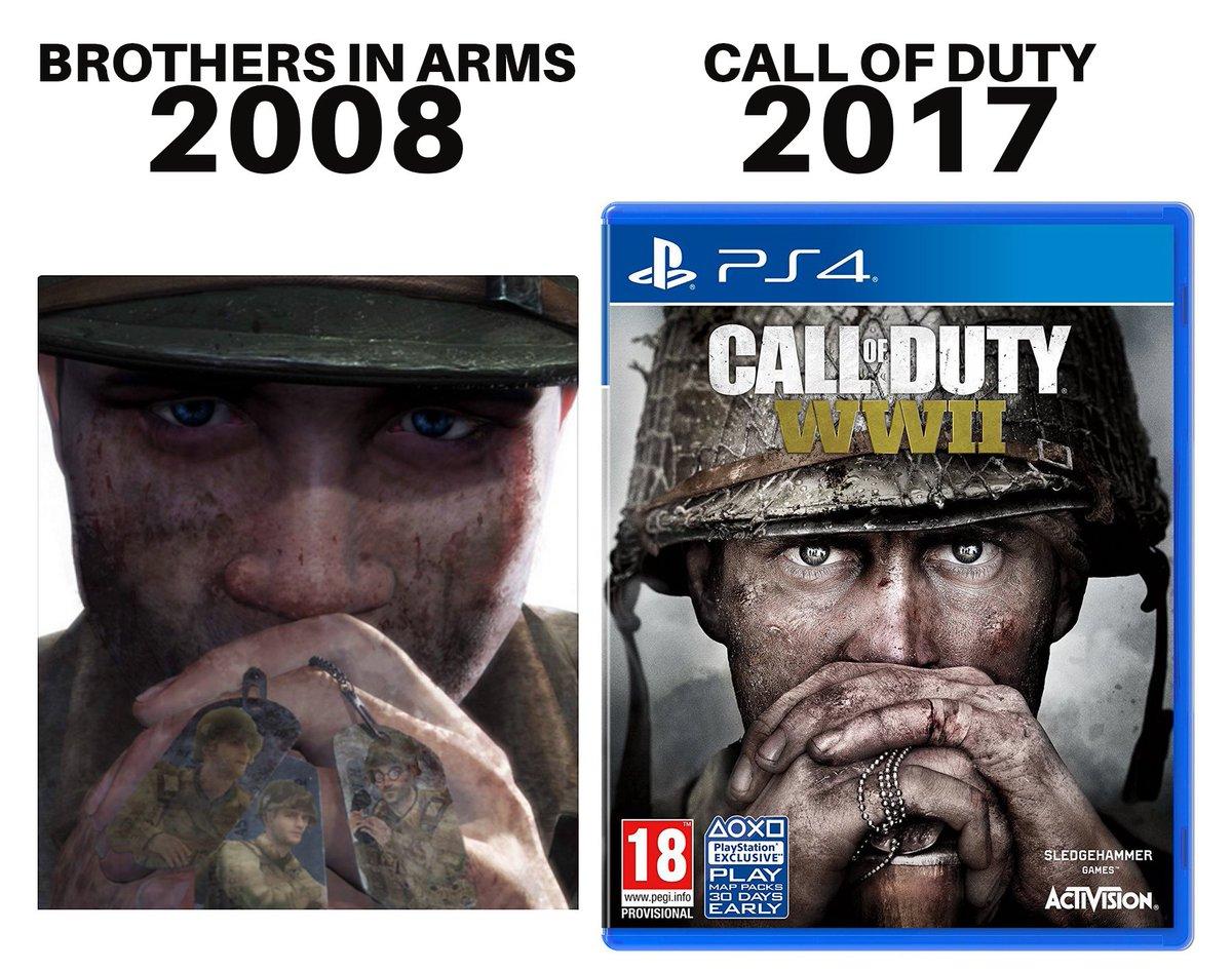 Acusan de supuesto plagio a Call of Duty WWII