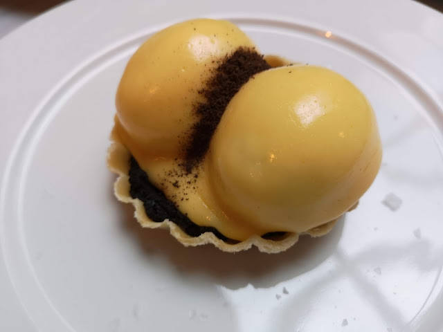 Croustade of Eggs with Truffles