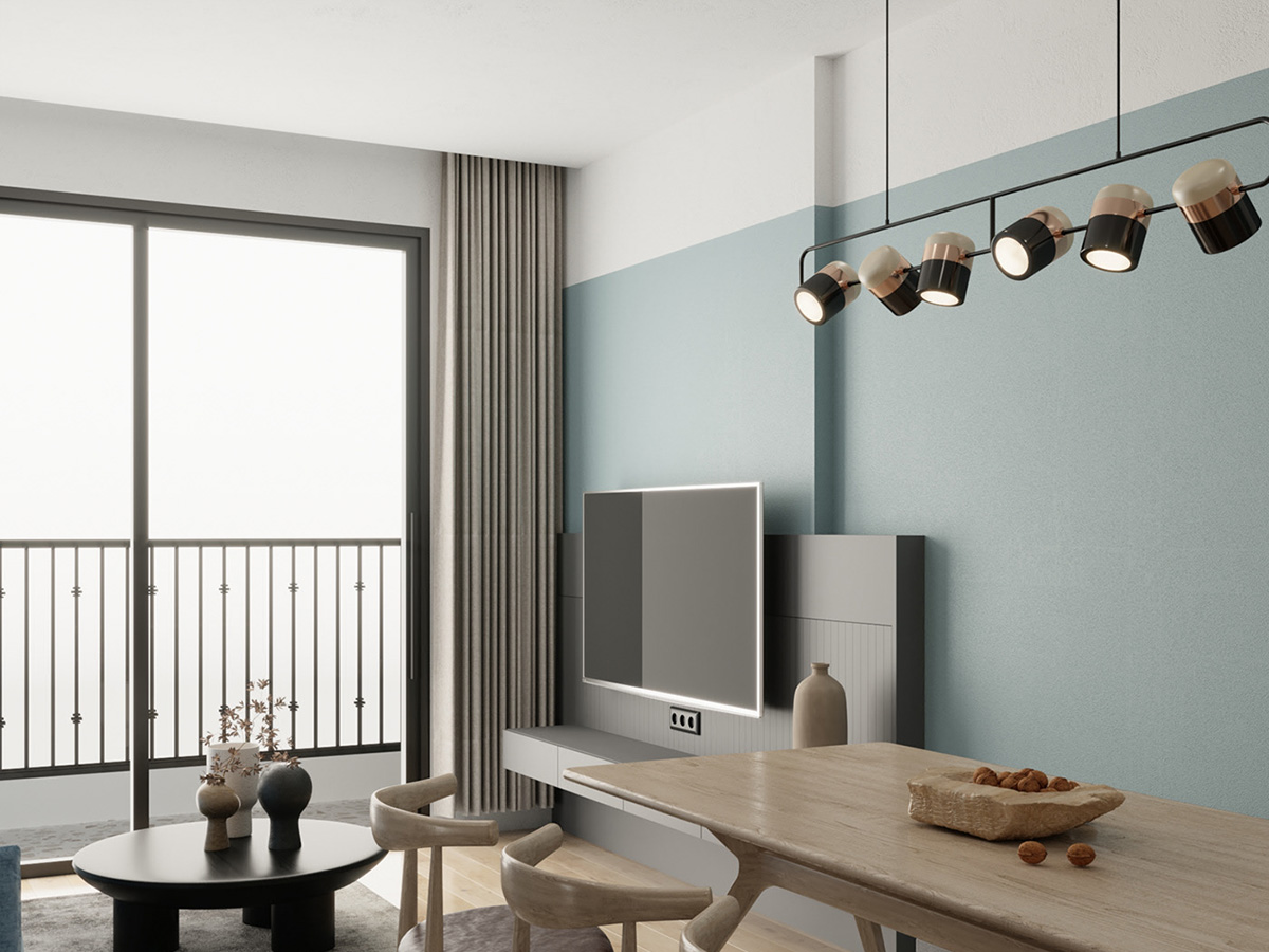 Thiết kế nội thất căn hộ 3 phòng ngủ Vinhomes Ocean Park Gia Lâm