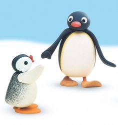 have you forgotten the legendary cartoon?Yes it is pingu