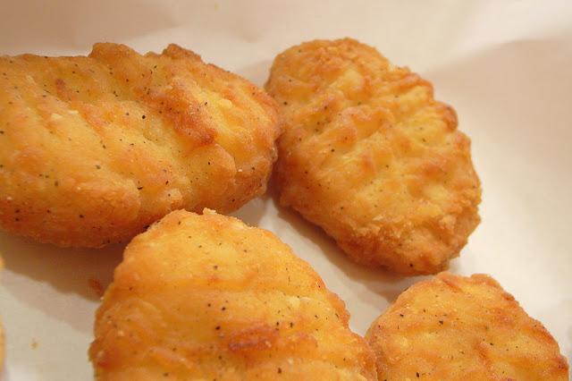 Des Nuggets de pommes de terre