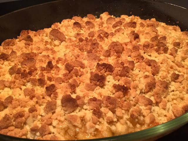 recette du crumble pommes