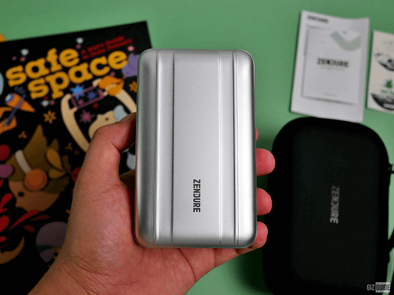 It is not that big for a 26,800mAh battery pack