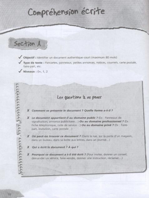 TEF test d'evaluation de français en ligne 250 activites pdf + livre audio et les corrigés