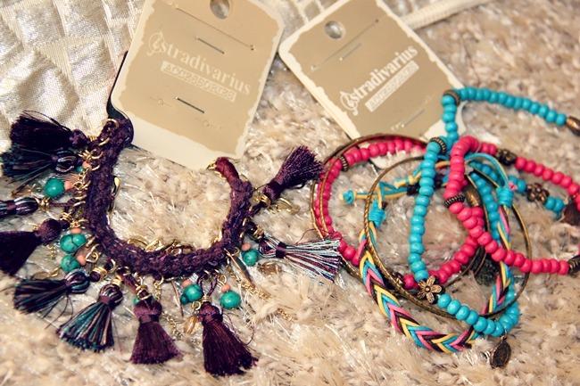 Stradivarius bracelets