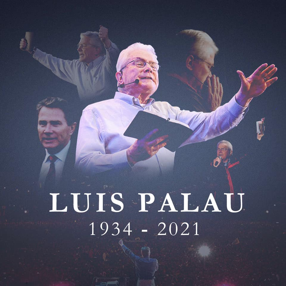 Fallece el Pastor Evangelista Luis Palau a los 86 Años tras luchar contra una larga enfermedad el Cáncer.