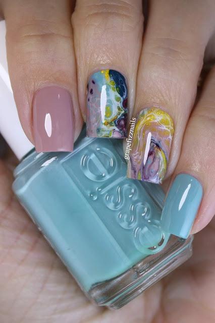 Essie Fluid Nail Art Mani