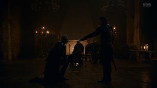 juego de tronos 8x02 Brienne es caballero