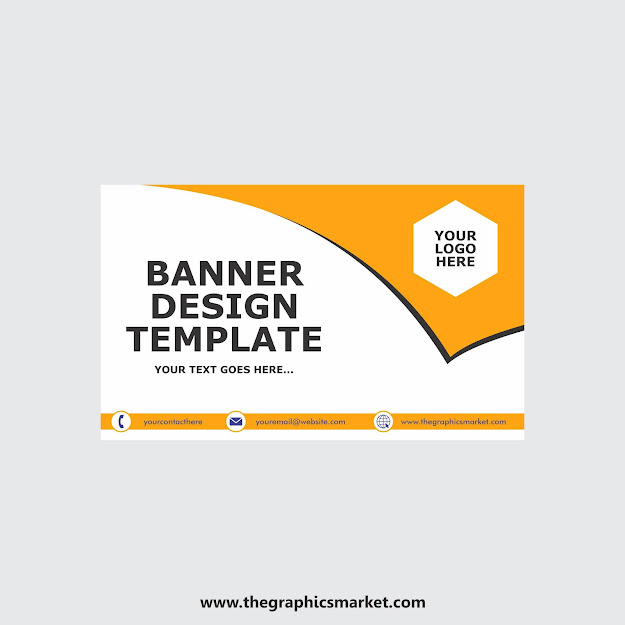 banner design template, free download banner design template, the graphics market, thegraphicsmarket,
