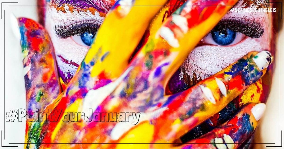 Δελτιο Τυπου για Το νεο μας Hashtag #PaintYourJanuary