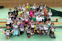 Tischtennis in der Grundschule Hohenaspe
