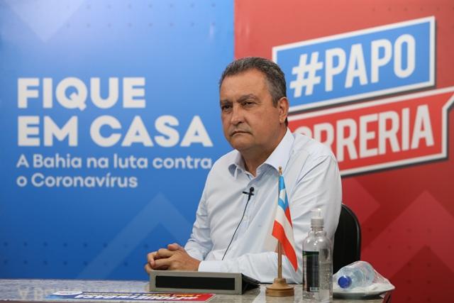 Bahia: Rui Costa anuncia cancelamento do São João e prorrogação da suspensão das aulas