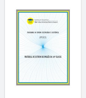 Baixar Livro/módulo de inglês 10ª e 11ª classe em pdf