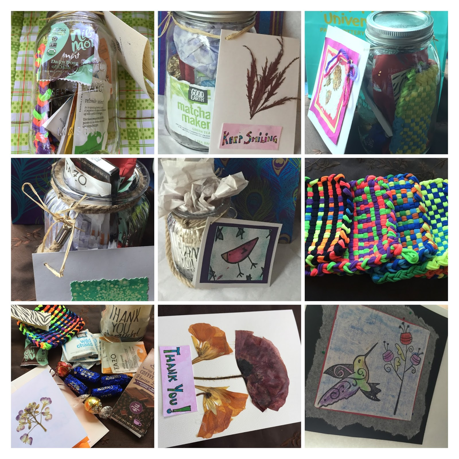 mason jar teacher gifts