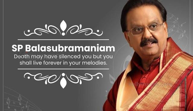 Legendary singer S P Balasubramaniam no more