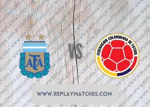 Argentina vs Colombia -Highlights 07 July 2021