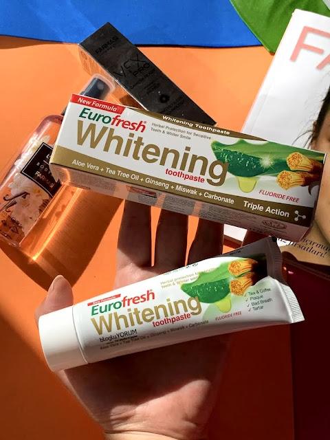 Farmasi EuroFresh Whitening Diş Macunu