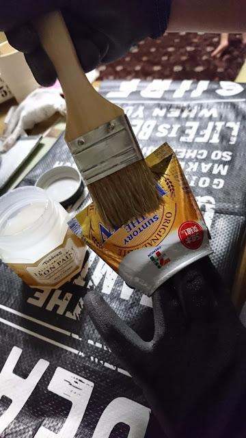 decoração com latas de leite