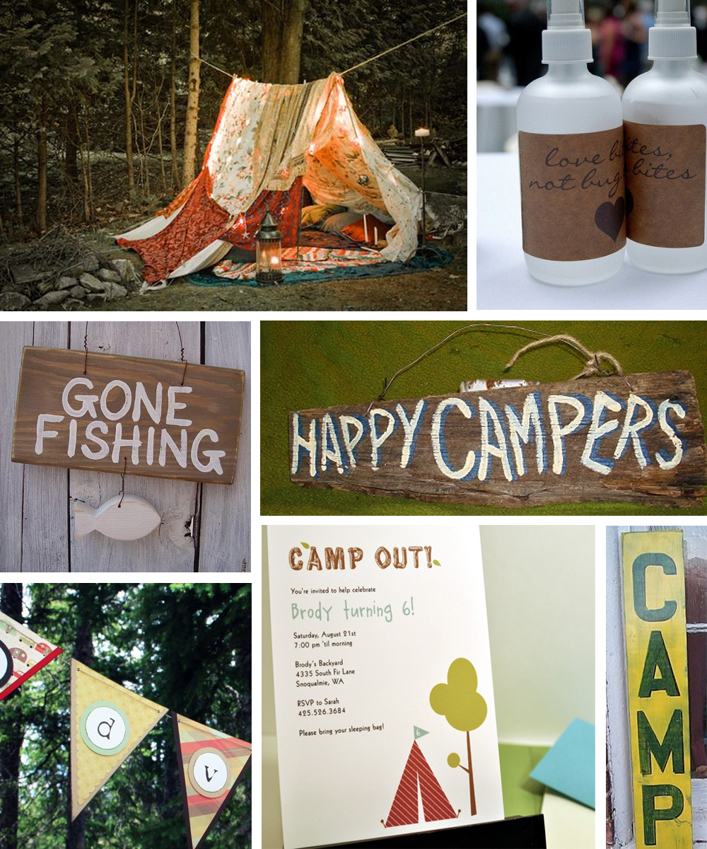 Backyard camping ideas for teenagers