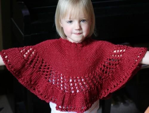 Kiddie Capelet - Free Pattern