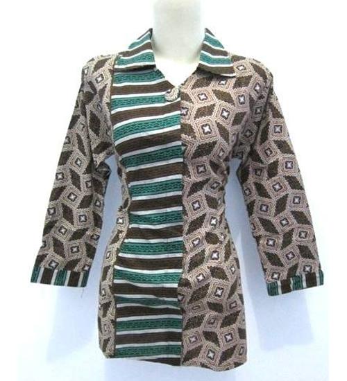 model baju batik dinas