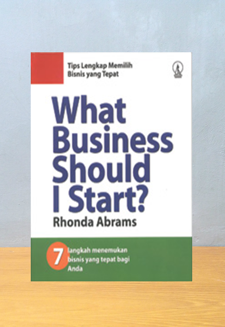 WHAT BUSINESS SHOULD I START, Rhonda Abrams