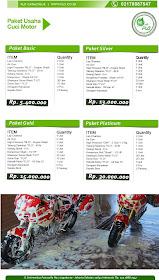 Flo Care Wash Daftar Harga Paket Cuci Motor Dan Mobil