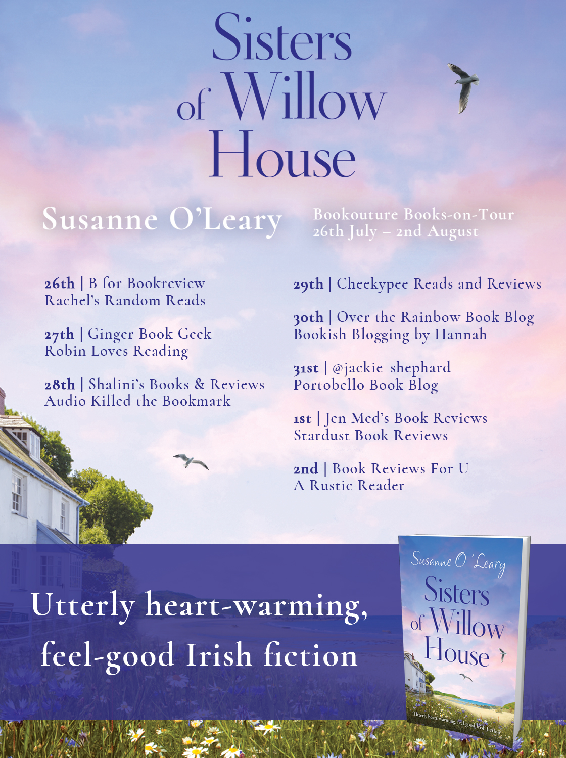 Robin Loves Reading: BLOG TOUR - Sisters of WIllow House