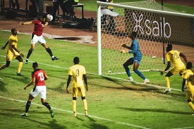 ملخص وهداف مباراة مصر وتوجو (1-0) تصفيات كاس امم افريقيا