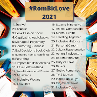 Image of #RombkLove2021 themes for the month
