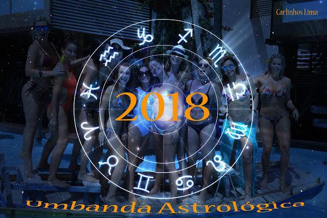 Celebridades e o astral em 2018