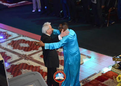 Ayo Oritsejafor Welcomes Benny Hinn To His Church In Warri || See Photos