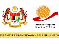 Jawatan Kosong di Jabatan Perangkaan Malaysia - Pengambilan Seluruh Malaysia