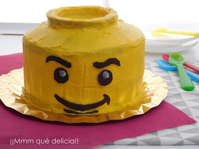 TARTA ARCOÍRIS DE LEGO