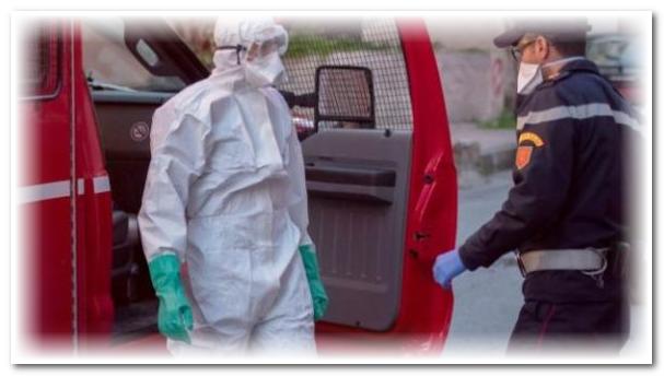 """التوزيع الجغرافي للحالات الجديدة المصابة بفيروس""""كورونا"""" خلال 24 ساعة الأخيرة"""