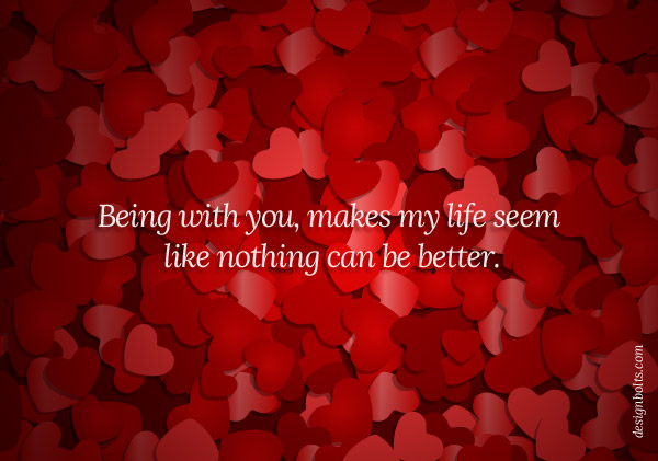 happy valentines day message