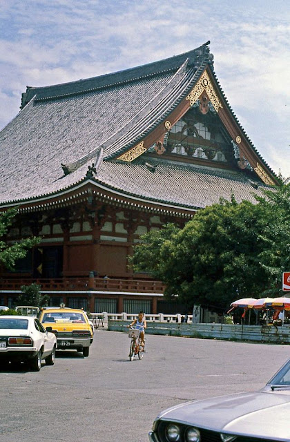Fotografías de las calles de Tokio a principios de los 80
