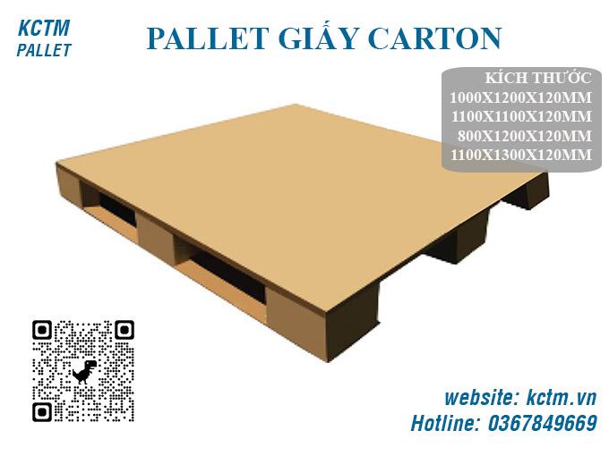 KCTM Pallet báo giá sỉ Pallet giấy carton