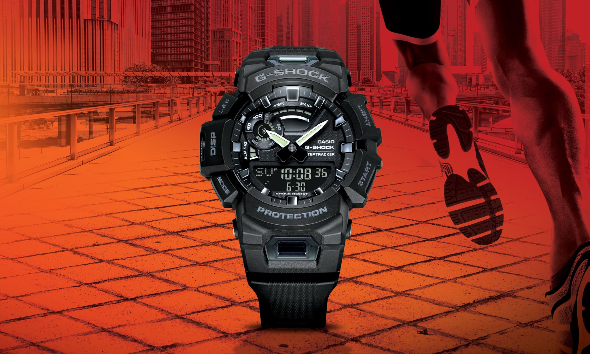 G-SHOCK Expands its G-SHOCK Move Lineup of Timepieces with New Fitness Focused and Connected, GBA900