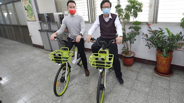 彰化縣推綠色交通觀光 公共自行車換MOOVO車輛