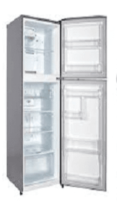Die physische Form des Kühlschranks