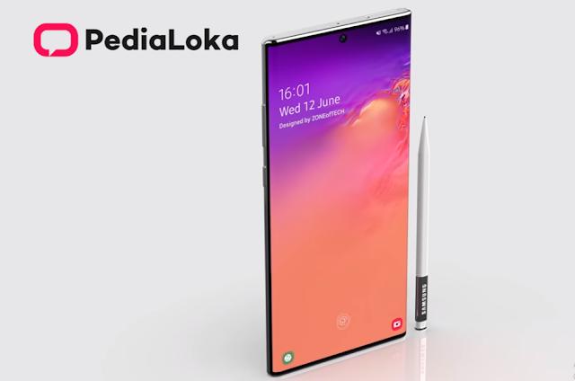 Harga Dan Spesifikasi Samsung Galaxy Note 10 2019