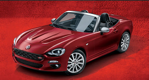 Fiat 124 Spider Euro version