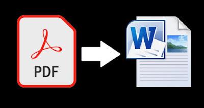 Cara Mengubah PDF ke Word di HP