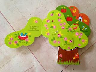 Les saisons de l'arbre - Editions TOURBILLON - Le printemps
