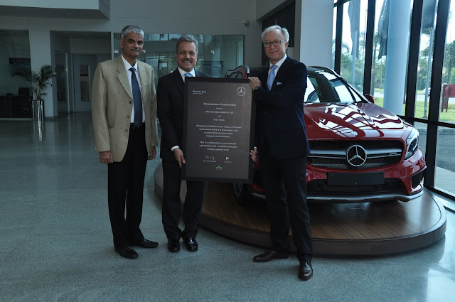 Mercedes-Benz partners with Grow Trees to promote green cause; undertakes afforestation drive in Maharashtra
