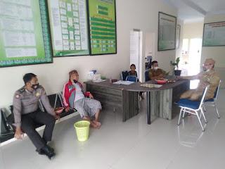 Personil Polsek Maiwa Polres Enrekang Melaksanakan Sambang Ke Kantor KUA Kecamatan