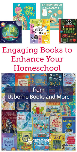 Books to Engage Kids and Enhance Your Homeschool