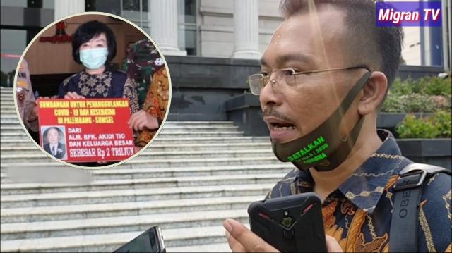 Iwan Sumule: Penyebar Hoax 2 Triliun Dibawa ke Rumah Sakit Jiwa, Kalau 11 Ribu Triliun?
